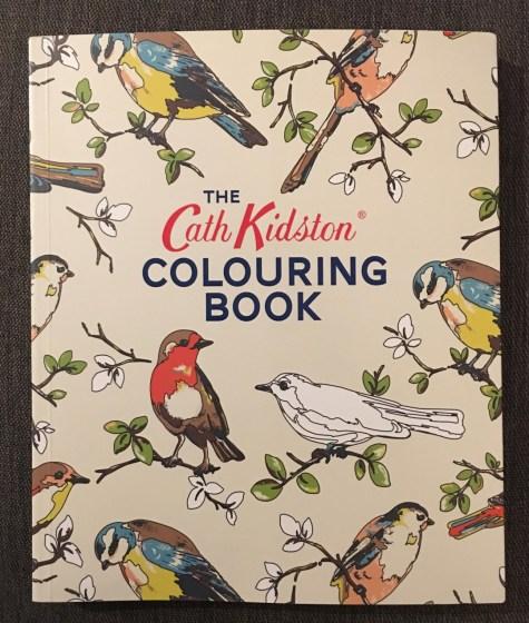 cath kidston colouring book