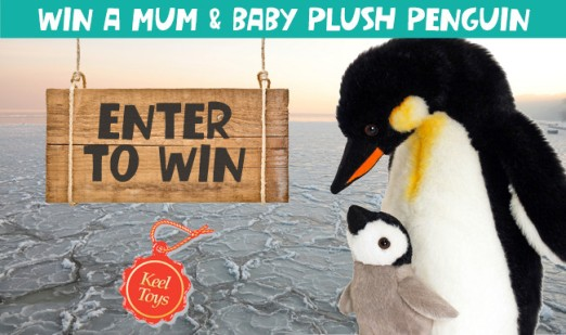mum & baby penguin toys
