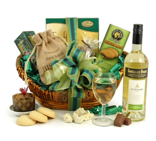 treats & wine hamper