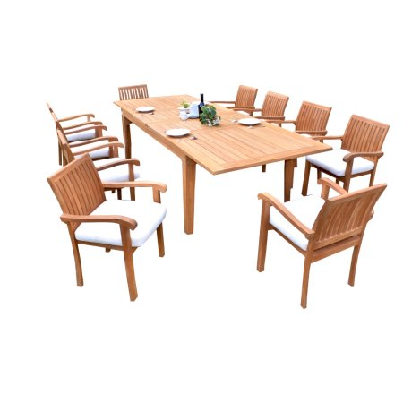 Vilamoura 11pc Garden Furniture set