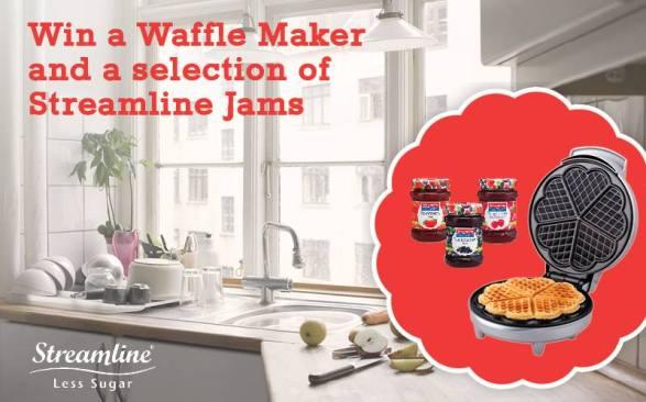 waffle maker & jam