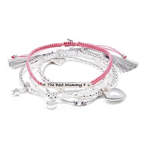 best mummy bracelet stack