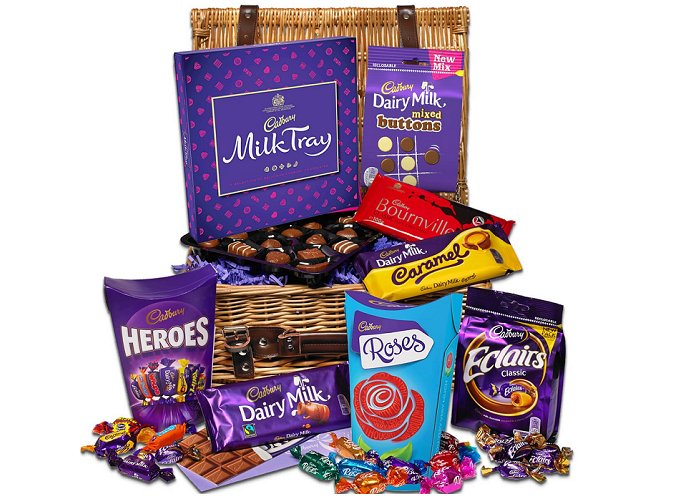 cadbury family chocolate hamper