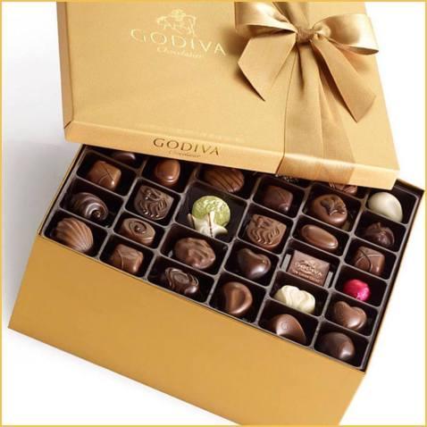 godiva assorted chocolate