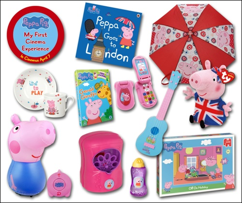 peppa pigs goodies
