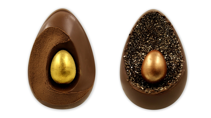 selection of luxury easter eggs