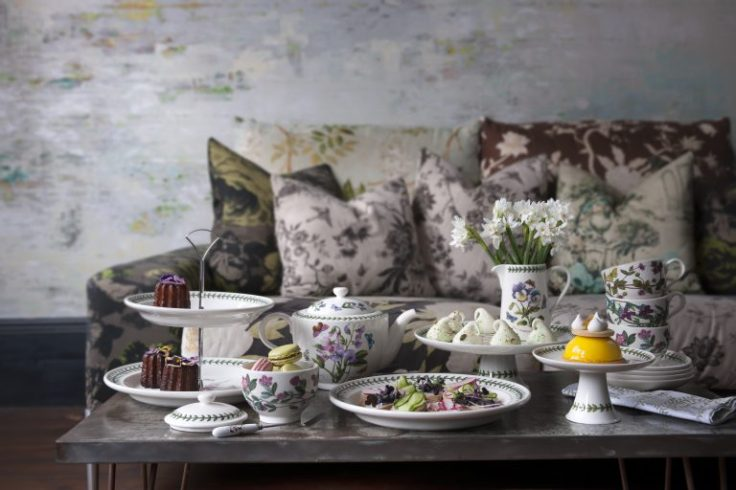 botanic garden afternoon tea set