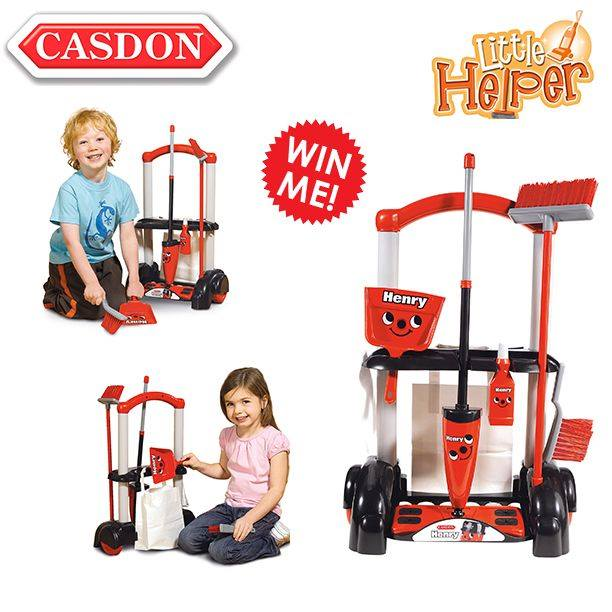 casdon toys henry cleaning trolley