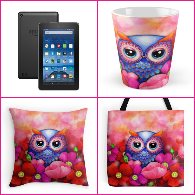 kindle fire & owl gifts