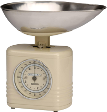 typhoon vintage kitchen scales