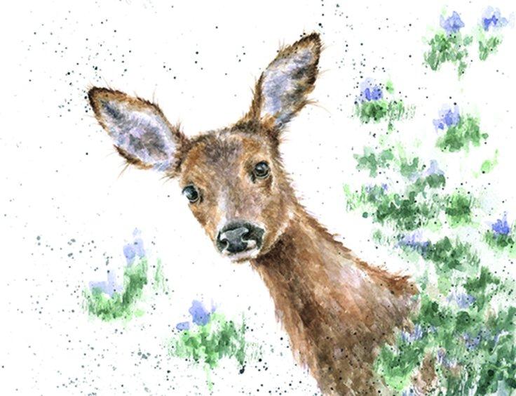 wrendale deer print