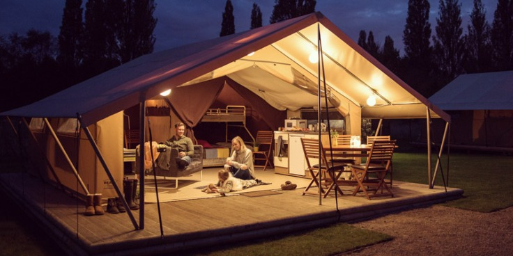7 night glamping holiday