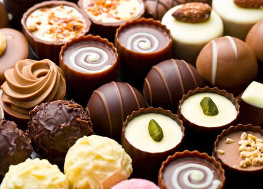box of luxury chocolates