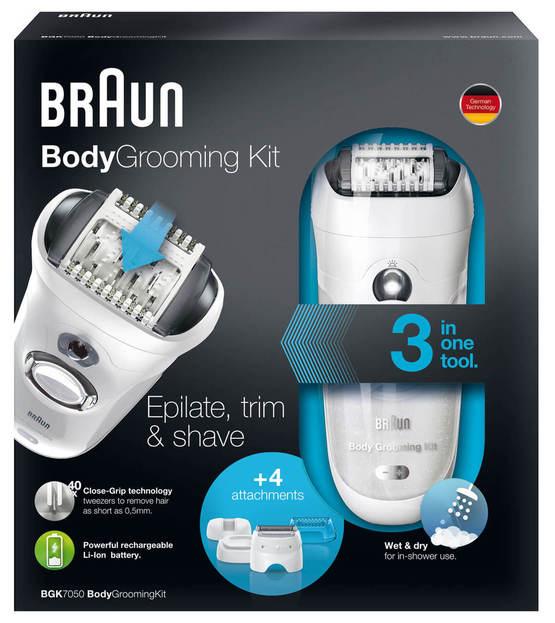 braun body grooming kit
