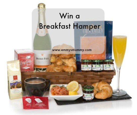 breakfast in bed hamper