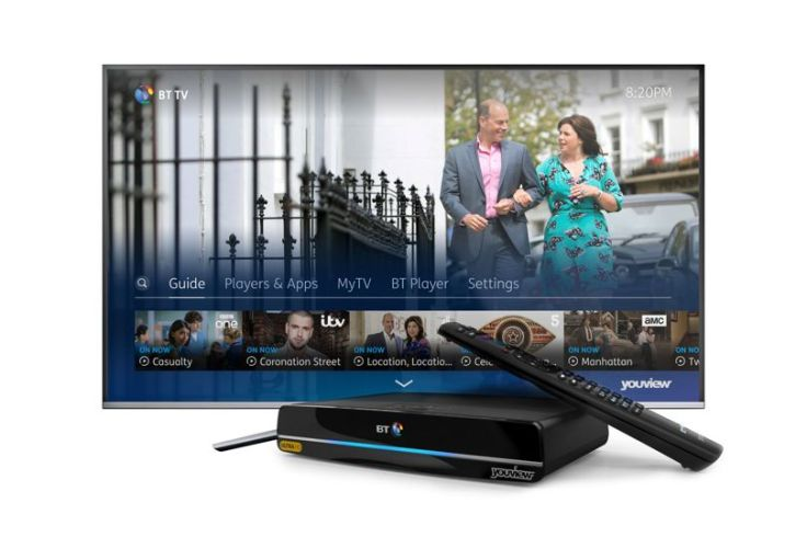 bt tv ultra hd box