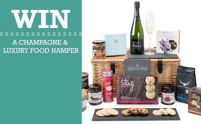 champagne & luxury food hamper