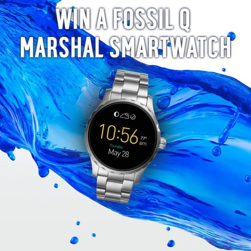 fossil marshall watch