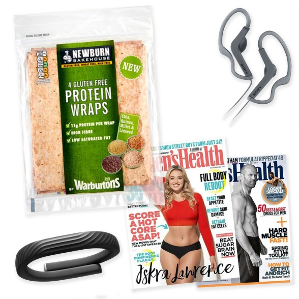 health & fitness hamper