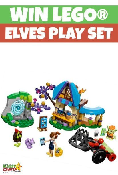 lego elves play set