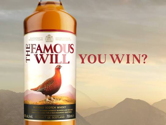 personalised the farmhouse grouse