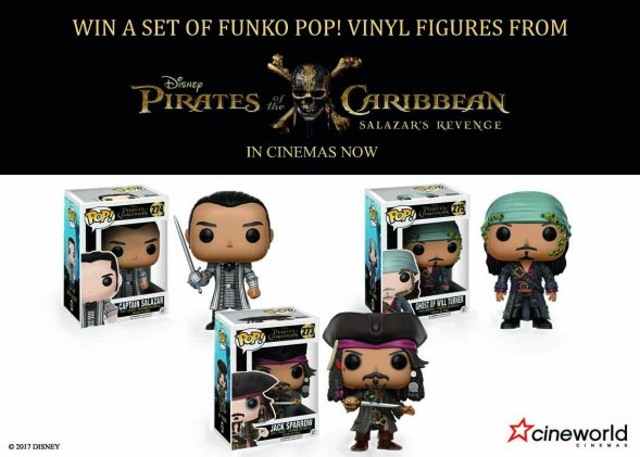 pirates of the caribbean character figures
