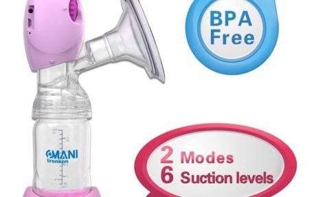 portable rechargable breast pump