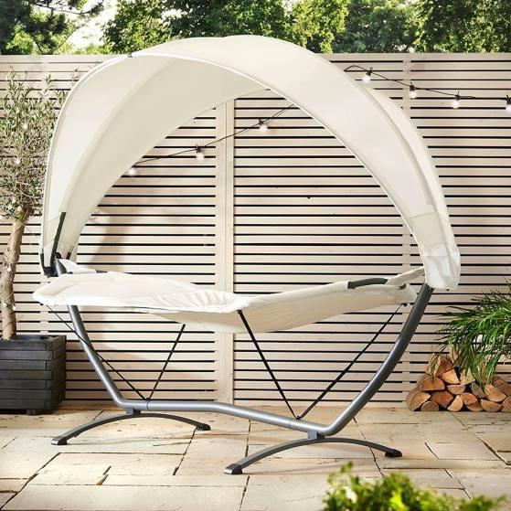 vonhaus hammock with canopy