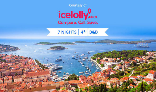 7 night holiday to croatia for 2