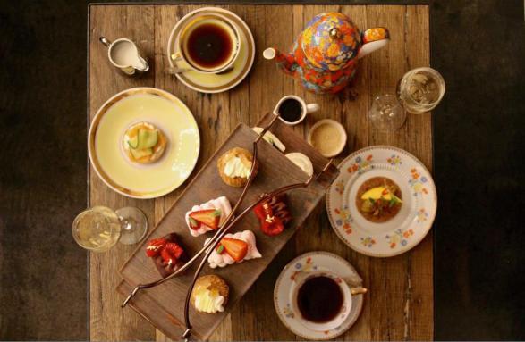 afternoon tea andaz london