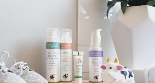 baby skincare set from moogoo