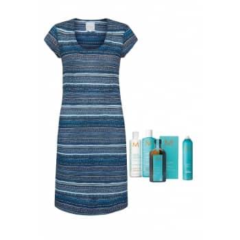 beach stripe dress