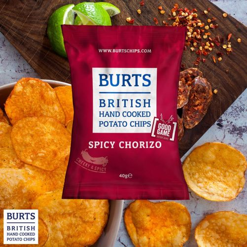 burts spicy chorizo