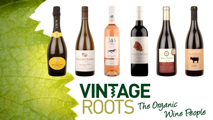 case of organic wine
