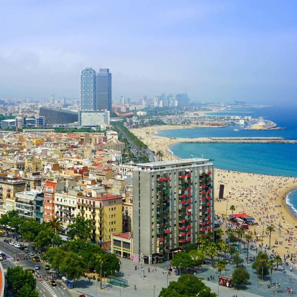 city break for 2 in barcelona