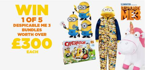 despicable me 3 goodies