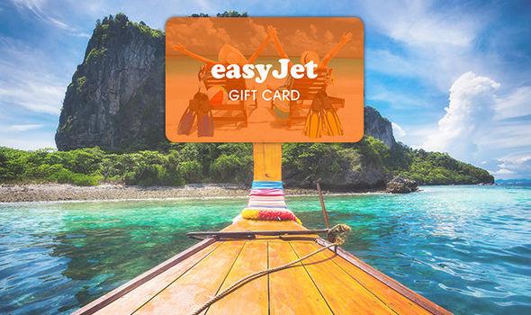 easy jet gift carn.