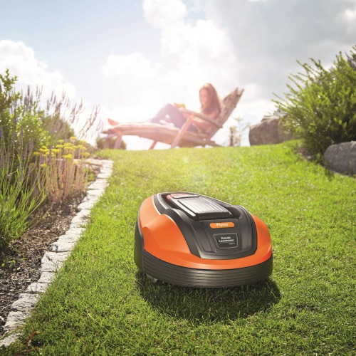 flymo robotic lawnmower