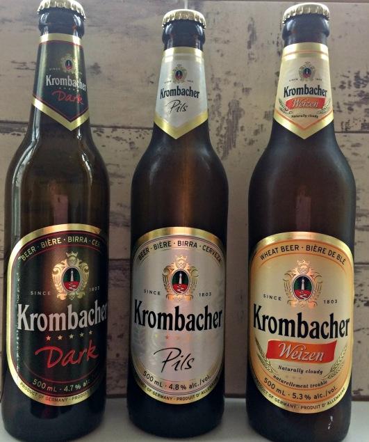 krombacher beers