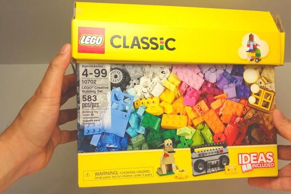 lego classic building set