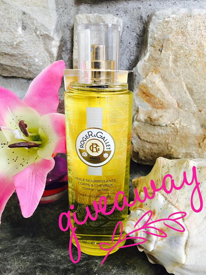 luxurious dry oil roger & gallet