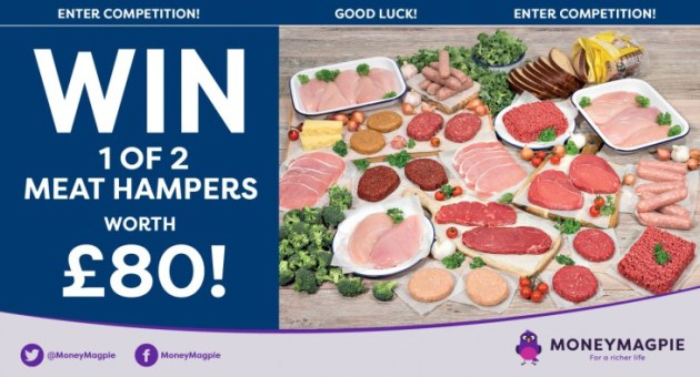 meat hamper worth £80