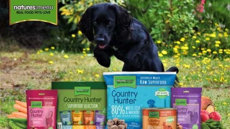 natures menu dog food hamper