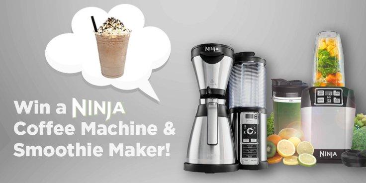 ninja coffee machine & smoothing maker