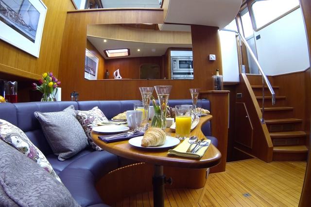 overnight luxury yacht