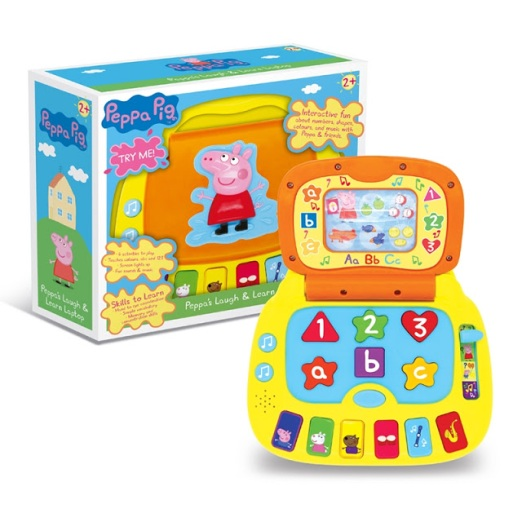 peppa pig laugh and learn
