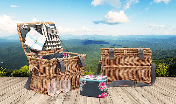 picnic hamper worth £90