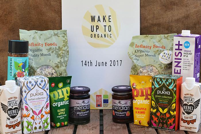 wake up to organic breakfast hamper