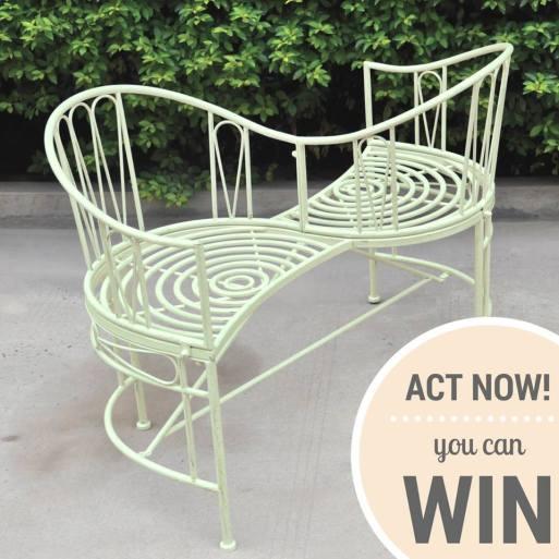 wayfair garden love seat