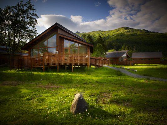 weekend break luxury cabin forst holidays